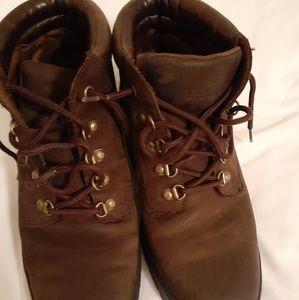 Timberland Medium Brown Leather Hiker
